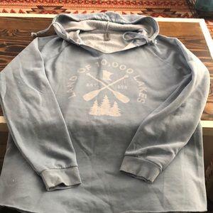 Blue mn hoodie